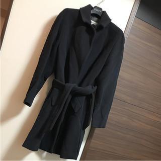 アルマーニ(Armani)のMANI アルマーニ ウールコート ブラック(ロングコート)