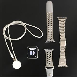 アップルウォッチ(Apple Watch)のApple Watch series2 シリーズ2 42mm ナイキ アルミ(その他)
