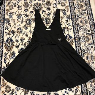エムシーシスター(Mc Sister)の160 MC SISTAR  黒ジャンパースカート(スカート)
