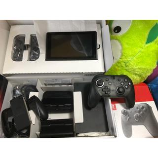ニンテンドースイッチ(Nintendo Switch)のNintendo Switch&プロコン+スプラ2(家庭用ゲーム本体)