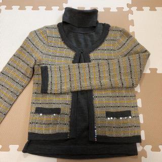 アンタイトル(UNTITLED)のUNTITLED  ジャケット&半袖セーター  ♡美品♡(テーラードジャケット)