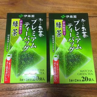 伊藤園 おーいお茶 お〜いお茶 プレミアムティーバッグ 緑茶 2箱(茶)