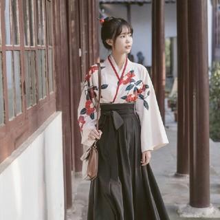 学生服♡ 上下2点セット 刺繡シャツとロングスカート(ロングワンピース/マキシワンピース)