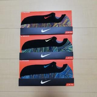 ナイキ(NIKE)の☆3足セット☆NIKE スニーカーソックス 新品・未使用品 スニーカー靴下(ソックス)