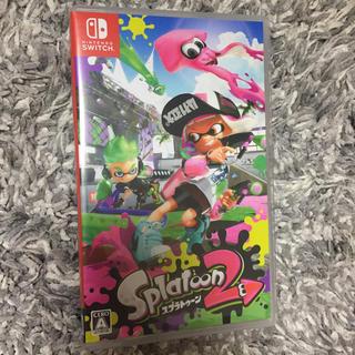 ニンテンドースイッチ(Nintendo Switch)の任天堂Switch スプラトゥーン2(家庭用ゲームソフト)