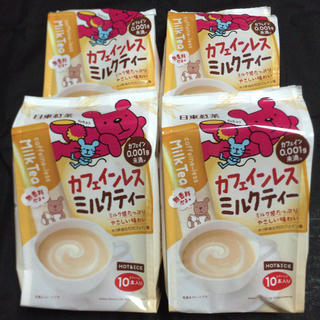 日東紅茶 カフェインレスミルクティー 4袋(茶)