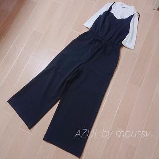アズールバイマウジー(AZUL by moussy)の【AZUL by moussy】トップス&オールインワン*セット売り(オールインワン)