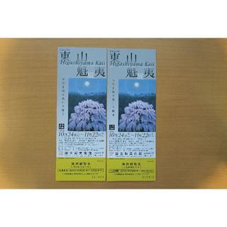 東山魁夷展 生誕110年 チケット2枚(美術館/博物館)