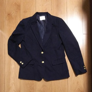 レトロガール(RETRO GIRL)のレトロガール テーラードジャケット 紺 ネイビー 金ボタン Lサイズ(テーラードジャケット)