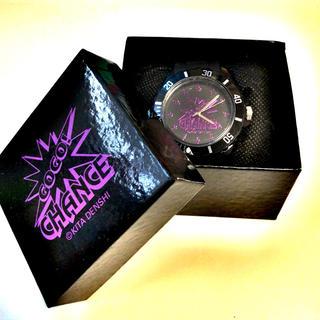キタデンシ(北電子)のジャグラー腕時計(purple)(パチンコ/パチスロ)