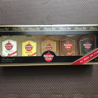 未開封 新品 ハバナクラブ ミニボトルセット(蒸留酒/スピリッツ)