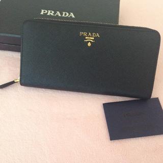PRADA - プラダ 長財布 ブラック