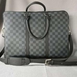 LOUIS VUITTON - Louis Vuitton ルイヴィトン ダミエ メンズ ビジネスバッグ