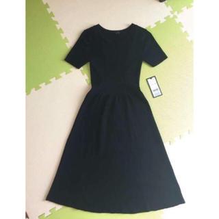 アイシービー(ICB)のiCB レディース ニット ドレス ワンピース サイズS(ひざ丈ワンピース)