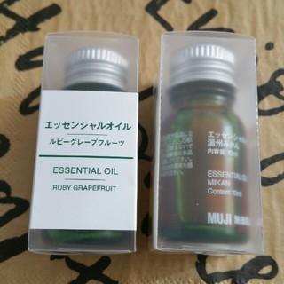 MUJI エッセンシャルオイルセット(エッセンシャルオイル(精油))