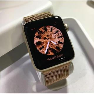 アップルウォッチ(Apple Watch)のApple Watch serise2 ゴールド(腕時計(デジタル))
