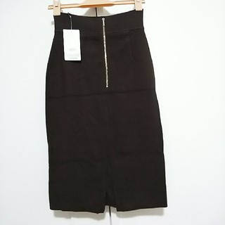 アンタイトル(UNTITLED)の新品 秋冬 UNTITLED ニットタイトスカート(ひざ丈スカート)