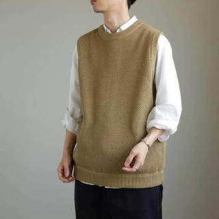 ヤエカ(YAECA)のcrepuscule exclusive moss stich vest (ベスト)