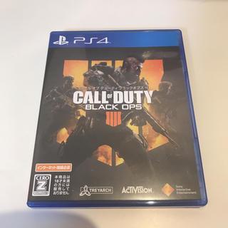 PlayStation4 - PS4ソフト  コールオブデューティ ブラックオプス4 『送料無料』『美品』