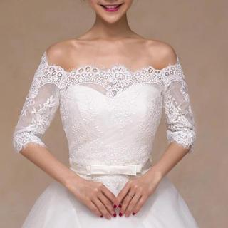 新品♡ブライダルボレロ ウエディング ショール 結婚式