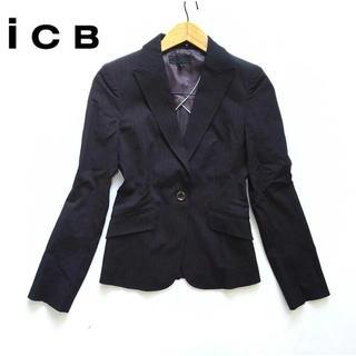アイシービー(ICB)のICB アイシービー★スーツ ジャケット 9号 フォーマル お仕事着に♪(テーラードジャケット)
