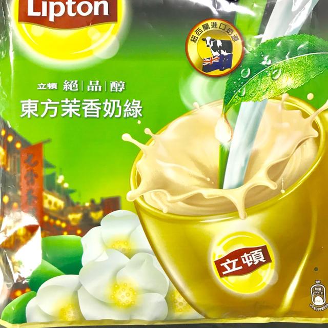 Unilever(ユニリーバ)の【台湾限定】リプトン ジャスミンミルクティー♡10包 食品/飲料/酒の飲料(茶)の商品写真