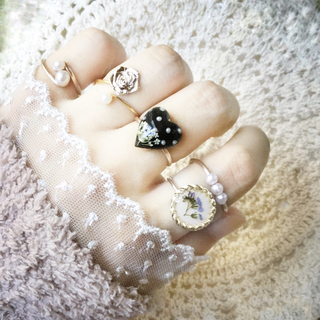 指輪セット 【Q】ワイヤーリング
