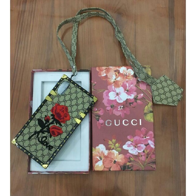 Gucci - グッチ GUCCI Gucci iPhone X ケースの通販 by N&B's shop|グッチならラクマ