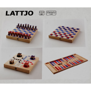 イケア(IKEA)の【未開封】イケア LATTJO ファミリーゲーム ボードゲーム(オセロ/チェス)