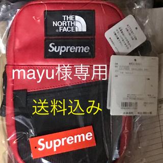 Supreme - Supreme TNF Leather Shoulder Bag Red