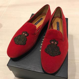 ラルフローレン(Ralph Lauren)のRalph Lauren❤️上品なスウェードシューズ(ローファー/革靴)