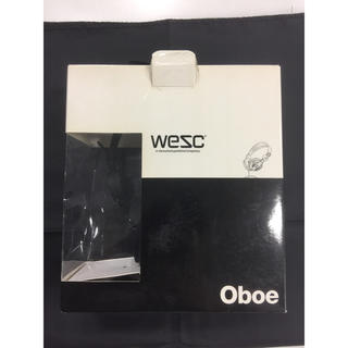 ウィーエスシー(WeSC)のWeSC Oboe ヘッドフォン B105046999(ヘッドフォン/イヤフォン)
