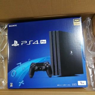 PlayStation4 - 新品未開封 ps4 pro ジェットブラック