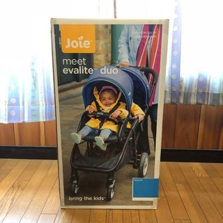 ジョイー(Joie (ベビー用品))のJoie ジョイー 2人乗りベビーカー ブルー(ベビーカー/バギー)