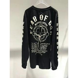 フィアオブゴッド(FEAR OF GOD)のFOG Fear of god 長袖Tシャツ パーカー トレーナー Lサイズ(Tシャツ/カットソー(七分/長袖))