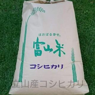 Rアールさま専用 30年度 富山県立山産 新米コシヒカリ