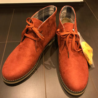 ジーユー(GU)の【再値下げ⬇️】【men's】新品・未使用  デザートブーツ(ブーツ)
