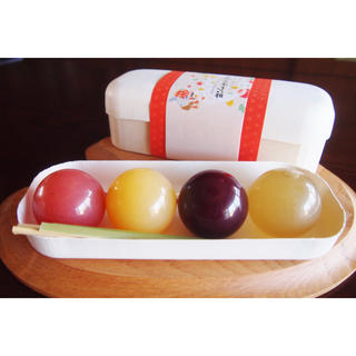 送料込 3箱セット まんまるかわいい玉こんジェリー「てんぐの玉手箱」(菓子/デザート)