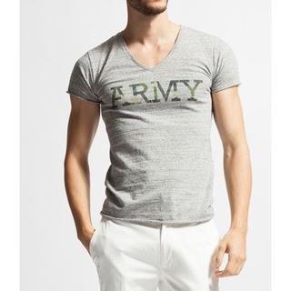 ダブルジェーケー(wjk)の一度着用8640円 wjk ストレッチARMYカットソー TシャツAKM(シャツ)