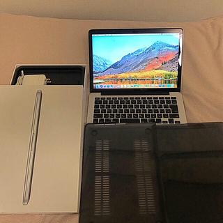 マック(Mac (Apple))のMacBook Pro 2015 13インチ windows10インストール済み(ノートPC)
