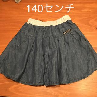 エフオーキッズ(F.O.KIDS)のフレアスカート デニム エフオーキッズ 140センチ(スカート)