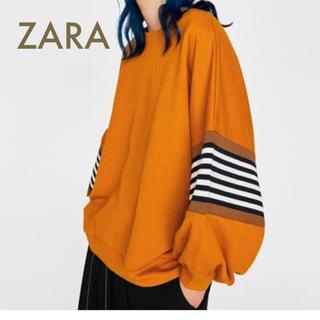 ZARA - ZARA  オーバーサイズ スウェット