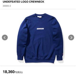 アンディフィーテッド(UNDEFEATED)の定価以下 最安値 undefeated crew neck L(スウェット)