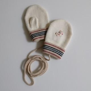 バーバリー(BURBERRY)のBURBERRY ベビー 手袋(手袋)