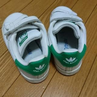 アディダス(adidas)の16cm スタンスミスグリーン(スニーカー)