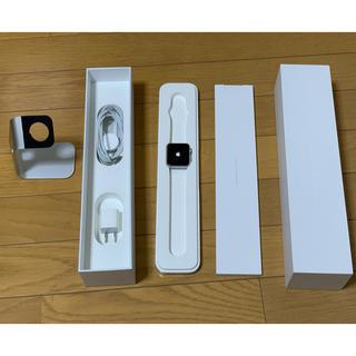 アップルウォッチ(Apple Watch)の初代 Apple Watch 42mm アルミニウムケース バンドなし おまけ付(腕時計(デジタル))