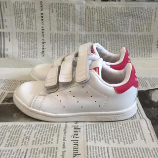 アディダス(adidas)の【adidas】スタンスミス ピンク 16cm(スニーカー)