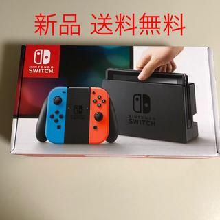 Nintendo Switch - ★新品未開封☆Nintendo Switch本体 ネオンブルー/ネオンレッド