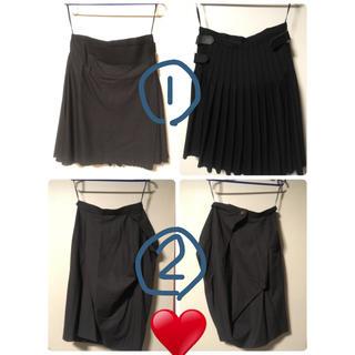 ヴィヴィアンウエストウッド(Vivienne Westwood)の計8点 ヴィヴィアンウェストウッド 衣類/accessory(ひざ丈スカート)
