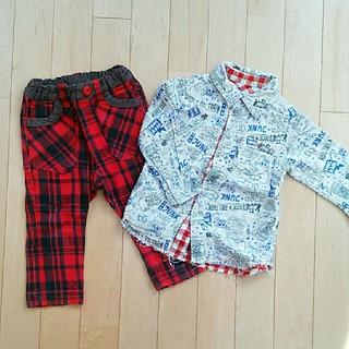 ジャンクストアー(JUNK STORE)の80 90  JUNKSTOREセット 男の子 パンツ シャツ(パンツ)